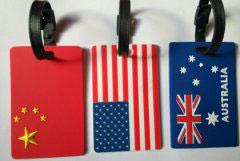山东某企业定制的行李牌大受称赞