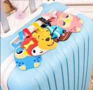 PVC软胶牌,旅游行李箱牌