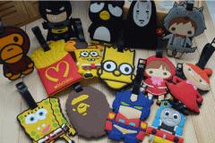 青海李总定制15万个广告礼品行李牌